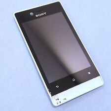 100% Genuine Sony Xperia Miro ST23i front+digitizer touch screen+LCD display