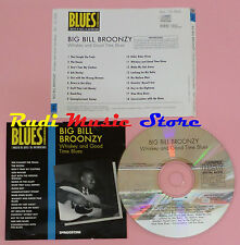 CD BIG BILL BROONZY Whiskey and good time blues 1993 PROMO BLUES lp mc dvd vhs