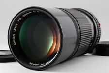 [NEAR MINT] Canon New FD 200mm f/4 Telephoto Manual Lens From Japan #68366