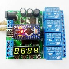5V 12V 24V Pro mini PLC Board for Arduino LED Cycle Delay Timing Timer Relay diy