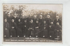 60th Wedding Day Oldest Inhabitants Frodsham 24th April 1908 Real Photograph