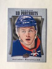 2016-17 Upper Deck Anthony Beauvillier UD Portraits P-71