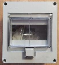 F-tronic IP55 KV 06 WD KE FR Verteiler mit M20 Einf. 6 Module Kunststoff Aufputz
