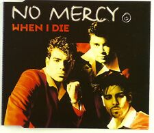 Maxi CD - No Mercy - When I Die - A4235