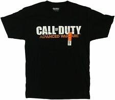 New Men's COD Call Of Duty Advanced Warfare Black T-Shirt Tee Size Medium 38-40
