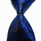 2016 Mens New 100% Classic Paisley Jacquard Woven Silk Tie Necktie Glamorous Hot