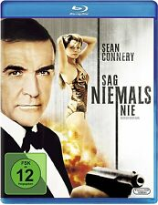 James Bond 007: SAG NIEMALS NIE (Sean Connery) Blu-ray Disc NEU+OVP