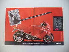 advertising Pubblicità 1988 MOTO DUCATI PASO 750