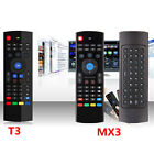 MXIII &T3 2.4G Wireless Remote Control Keyboard Air Mouse for  TV box Mini PC