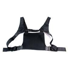 Chest Pocket Pack Backpack Handset Radio Holder Bag/Carry Case For 2-Way Radios