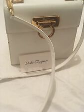 White Salvatore Ferragamo Cross body Purse