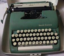 Vintage Smith-Corona Sterling Manual Typewriter