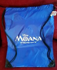Disney Moana Cinch Backpack Tote Bag Exclusive Soda Fountain Animated pin event