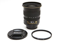 Nikon Zoom Nikkor 12-24 12-24mm f/4 f4 DX G SWM AF-S IF ED M/A Lens ** USA MODEL