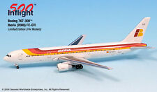 Iberia EC-GTI 767-300 ER Airplane Miniature Model Snap Fit Kit 1:500 Part# A015-