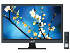 "SUPERSONIC SC-1511 15.4"" Widescreen LED LCD HDTV +HDMI/USB Inputs"