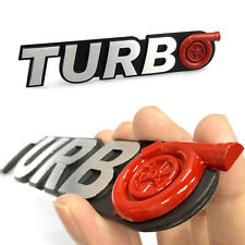Car SUV Turbo G Sticker New 3D Alloy Metal Logo Emblem Badge Decal Universal zy