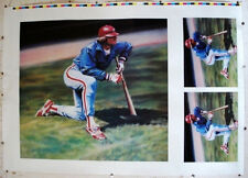 PeteRose/OnDeckForTheRecord/RareColorLithographSignedProof