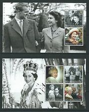 GREAT BRITAIN 2016 HM THE QUEEN'S 90th BIRTHDAY PRESTIGE BOOKLET  PAIR OF PANES