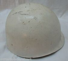 CASQUE US LINER USA ORIGINAL SHORT PATROL MP POLICE US NAVY Blanc VIETNAM