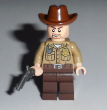 "T.V. #01 Lego The Walking Dead ""Rick Sheriff "" NEW Genuine Lego Parts Season 1"
