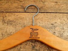 Vintage Retro Wooden Advertising Clothes Clothing Coat Hanger 'The Perfectum' 2