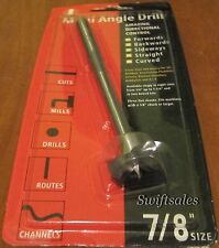 """ITM MAD 314MA5664 7/8"""" Multi-Angle Drill Bit - Forstner-Style For Wood & Plastic"""