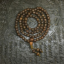 Tibetan Buddhism 108 Old Phoenix eyes Bodhi seeds Mala Necklace
