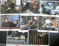 NICO ABOVE THE LAW  ORIGINAL 1988 LOBBY CARD SET OF 8 STEVEN SEAGAL