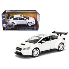 Jada Toys Mr. Little Nobody's Subaru WRX STI 1:24 Fast and Furious 8 98296 White
