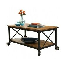 Rustic Coffee Table Country Western Decor Vintage Antique Living Room Furniture