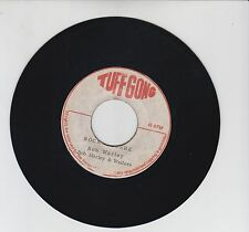 "TUFF GONG/ ROCK IT BABE   -  BOB MARLEY & THE WAILERS (72  REGGAE ROOTS 7"")"
