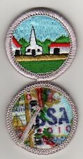 "Citiz. in the Community Merit Badge, Type K, ""BSA 2010"" Back (2010-12), Mint!"