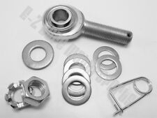 "Go Kart Racing Drilled Camber Heim Joint Kit 1/2"" Dia.for Frame and Spindle Bolt"