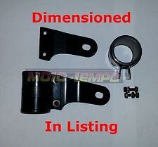 BLACK HEADLIGHT LAMP HEADLAMP BRACKETS 38-40MM FORKS STREET FIGHTER Motorcycle .