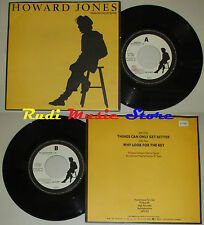 LP 45 7'' HOWARD JONES Things can only get better Why look for 1984 cd mc dvd