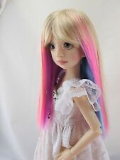 Monique JEWEL Wig Gem Size 7-8 MSD BJD shown on Ruby by Liz Frost