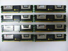 1PCS MEMORIA RAM KINGSTON SERVER 2Rx8 1GB DIMM DDR2 667 MHz PC2-5300F ECC MEMORY