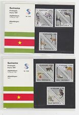 A45 SURINAME 1997/NR.116 A+B MONKEYS MNH
