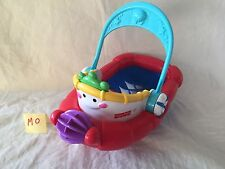 Vintage Fisher Price Tub Time Tugboat Beach Pool Bath Child Toy GUC