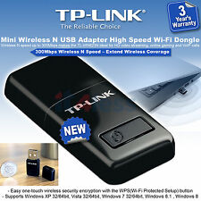 TP-Link 300Mbps Mini Wireless N USB Adapter TL-WN823N High Speed Wi-Fi Dongle