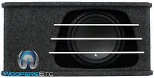 "OB JL AUDIO HO112RG-W3V3 12"" LOADED 12W3V3 ENCLOSED SUBWOOFER BASS SPEAKER & BOX"