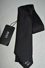 HUGO BOSS Man's BLACK LABEL Dress Tie NEW Size 2.5in Wide Retail $95 Made  ITALY