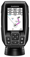 New Garmin STRIKER 4 FishFinder w/ 4-Pin, 77/200kHz TM Transducer 010-01550-00