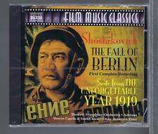 CD NEUF OST FALL OF BERLIN SHOSTAKOVICH