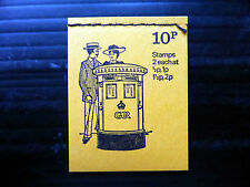 GB 1972 August 10p Stitched Booklet DN55 NEW SALE PRICE FP4445