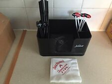 JACK DANIEL'S PLASTIC CADDY NEW EDITION PLUS ACCESSORIES