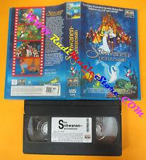VHS film DIE SCHWANEN-PRINZESSIN tedesco 1996 animazione COLUMBIA (F2) no dvd