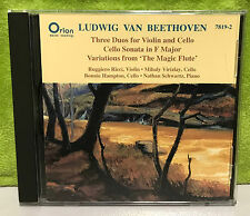 Beethoven: Three Duos for Violin and Cello; Cello Sonata in F major; Variations