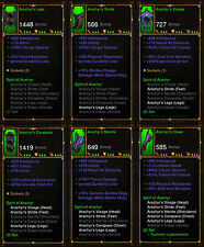 Diablo 3 RoS PS4 [SOFTCORE] - All Witch Doctor Ancient Class Sets [Check Images]